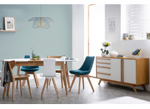 2 door, 4 drawer sideboard HELIA