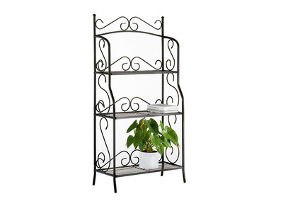3 Tier-Storage Steel Shelving Unit FLORENCE