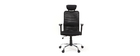 ADAPT black designer office chair