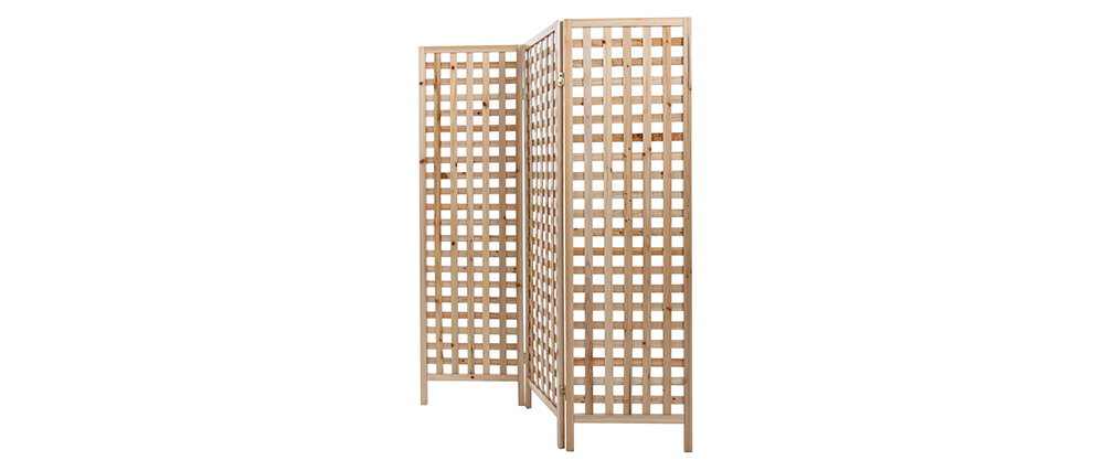 AKKIKO Natural Wood Screen