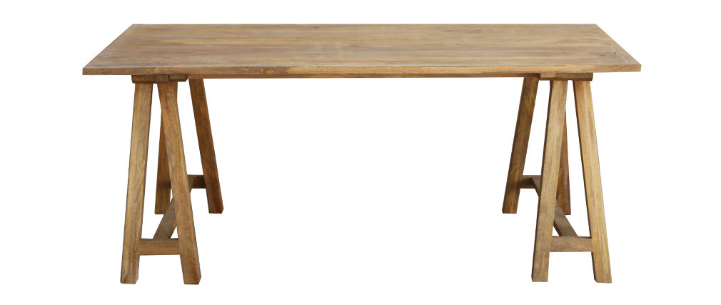 ANTIQUA mango tree wood dining table