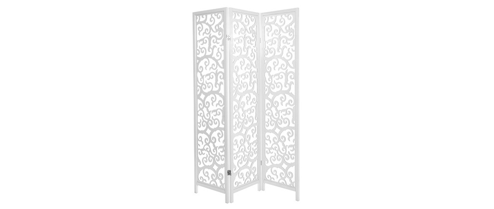 ARABESQUE White Wood Screen