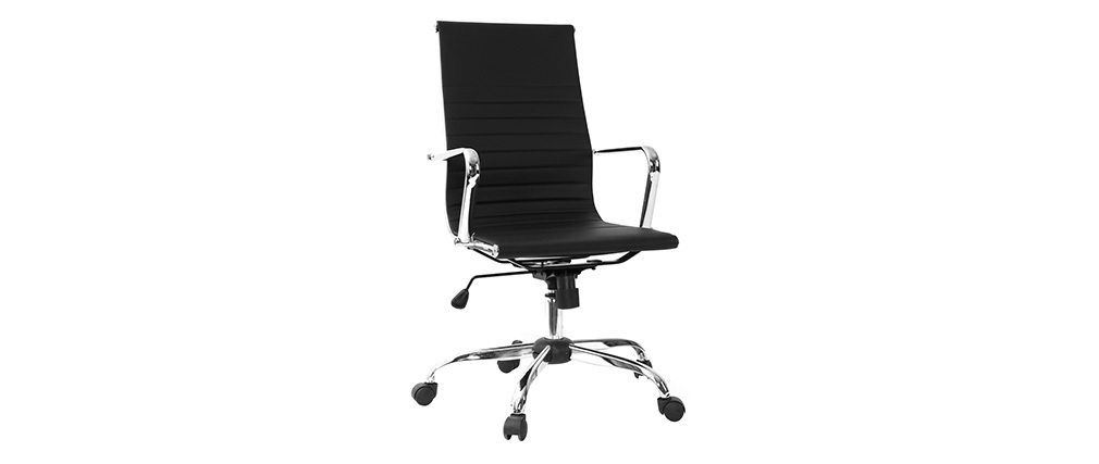 ARNO black designer office chair