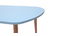 ARTIK Scandinavian coffee tables in lagoon blue and light wood