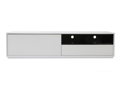 ARTY Black and White MDF Modern TV Stand (180cm)