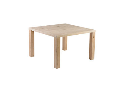 Ash Modern Dining Table 120x120cm DRATA