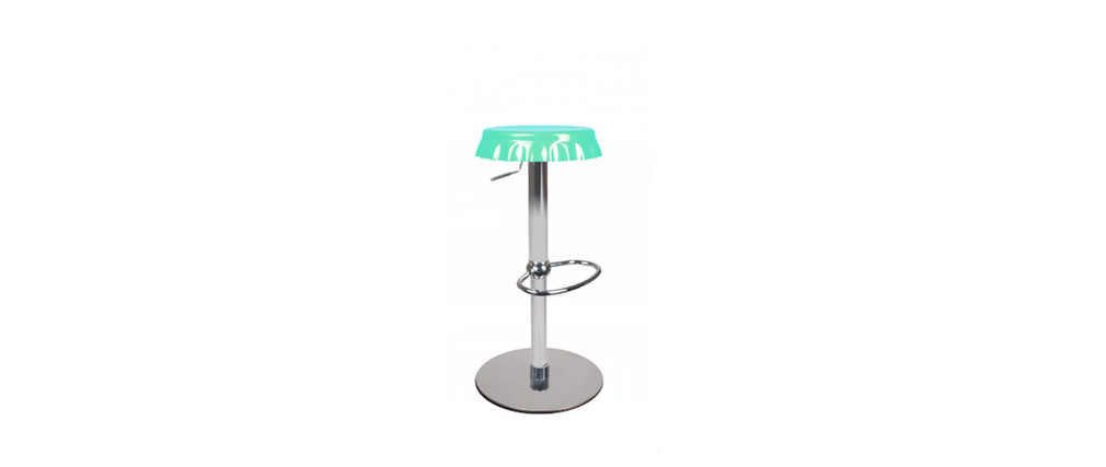 Bar stool - blue