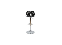 Bar stool design baroque black BAROCCA