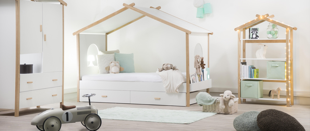 BIRDY Child Modern Hut Bed