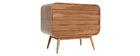 BJORG Ash Modern 3 Drawer Chest
