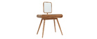 BJORG Ash Modern Dressing Table with Mirror