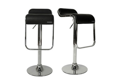 Black Bar/Kitchen Stool ANDROMEDE (set of 2)