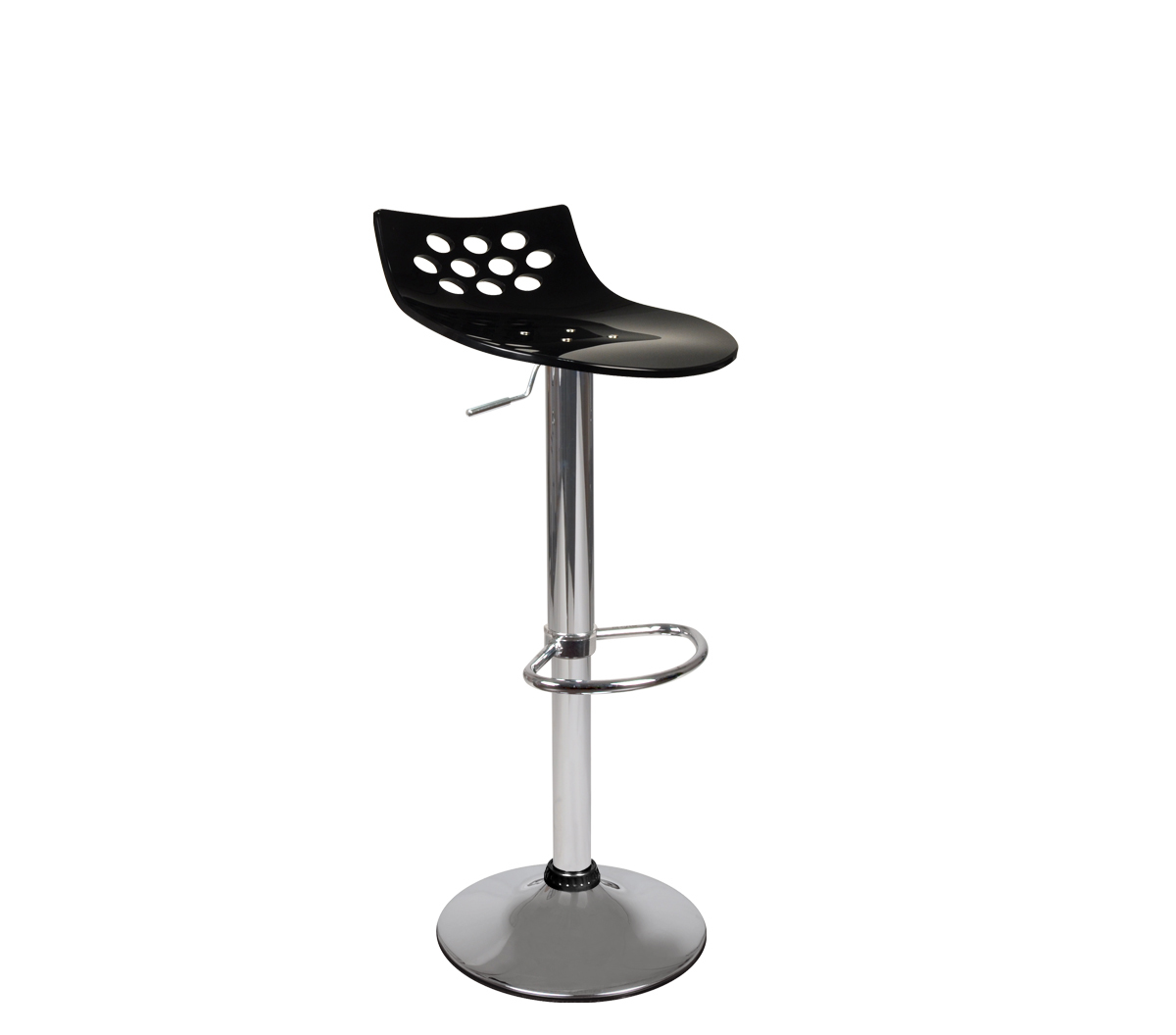 Black bar stool up to you Magellan