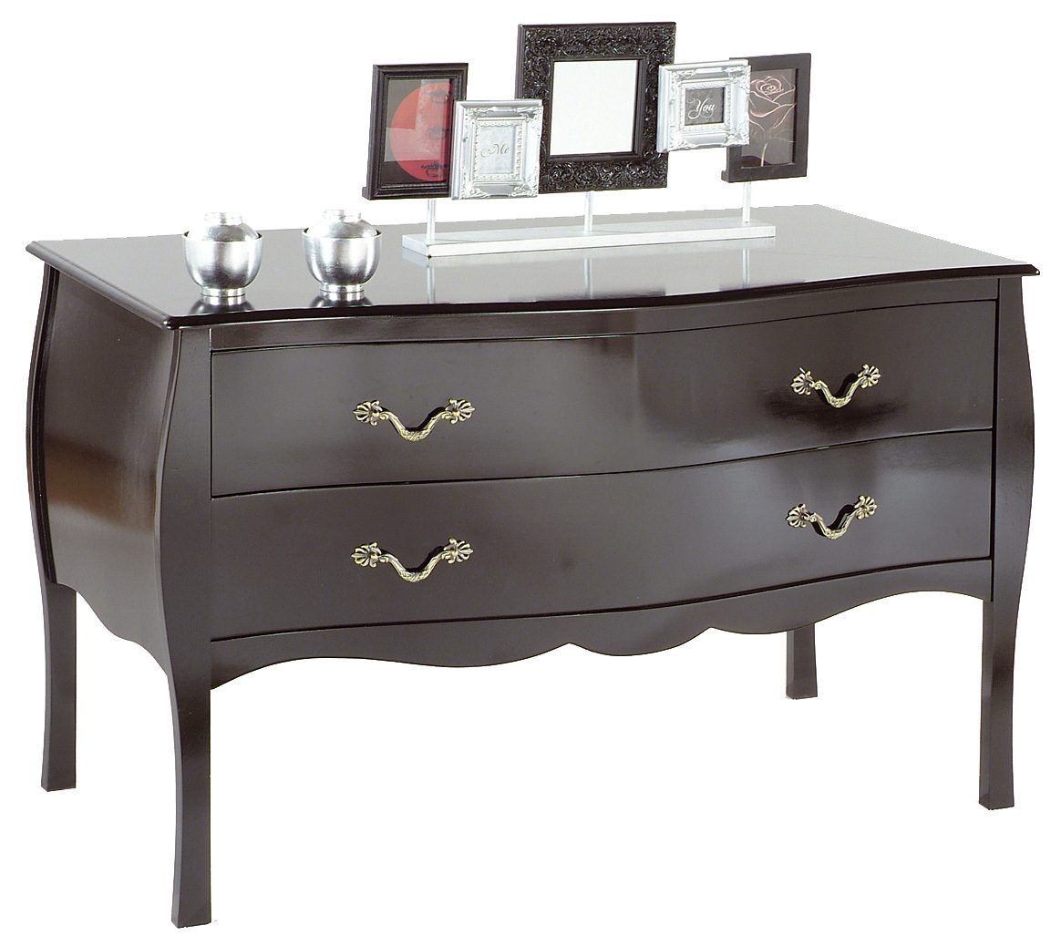 black chest of drawers console table louisa 2 drawers. Black Bedroom Furniture Sets. Home Design Ideas