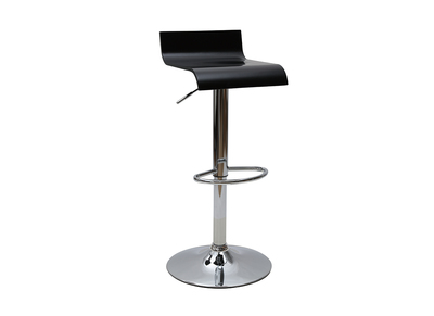 Black Modern Bar/Kitchen Stool SURF