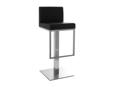 Black Modern Bar Stool OMEGA