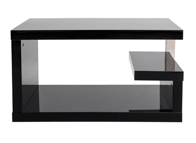 Black Modern Coffee Table REX