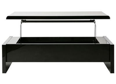 Black Modern Lift Top Coffee Table LOLA