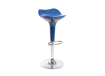 Blue Modern Bar Stool URANUS