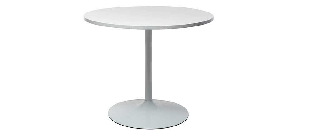 CALISTA White Modern Dining Table D90