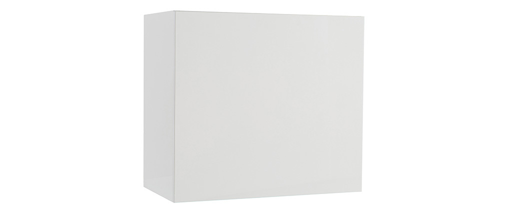 COLORED Glossy White Square Wall Unit