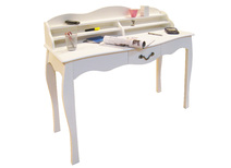 Desk / console table with 1 drawer LOUISA - colour white