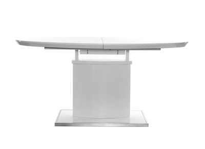 Extending Modern White Dining Table CLEONES