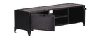 FACTORY Black Metal Modern TV Stand (150cm)