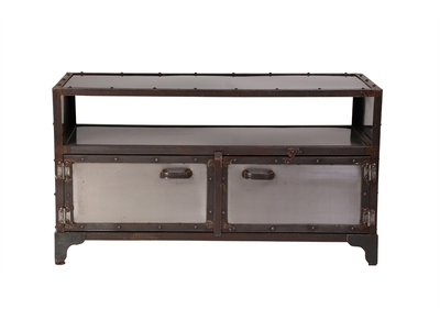 Affordable luxury tv stands for sale miliboo - Mobile tv industrial ...