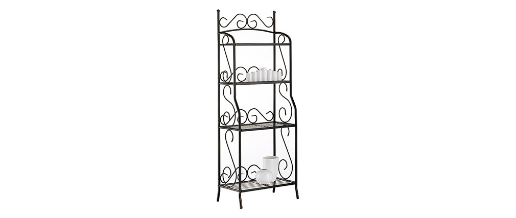 Florence Steel 4 Tier Shelving Unit