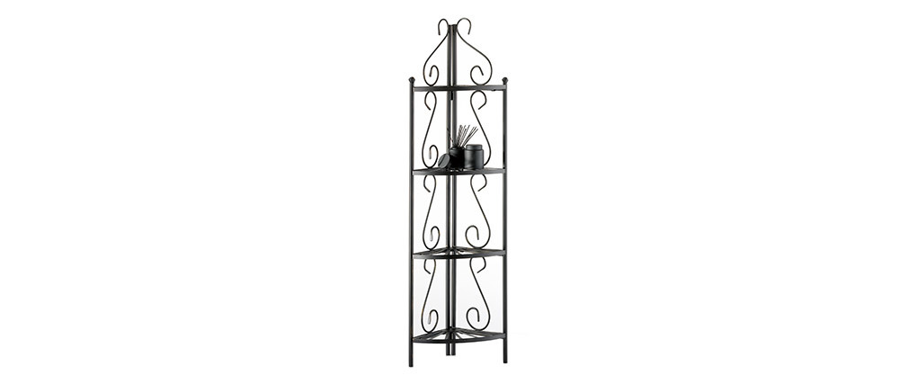 FLORENCE Steel Corner Storage Shelving Unit
