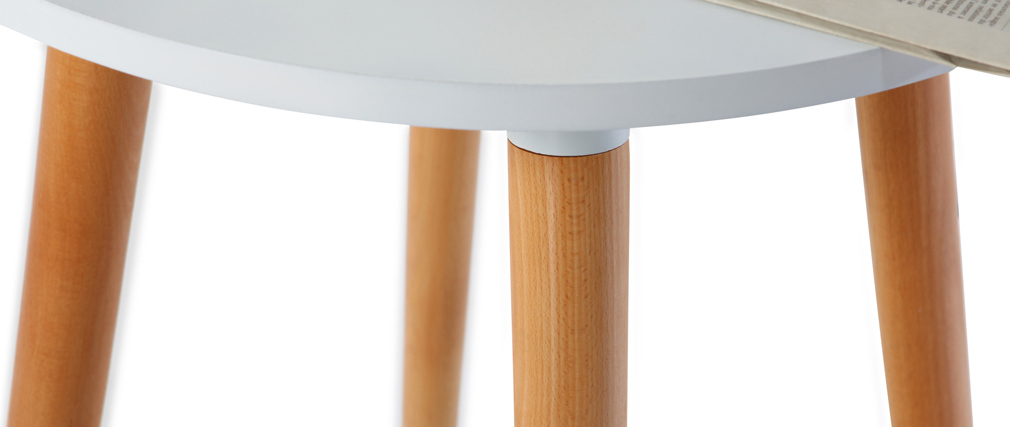 GILDA Modern Wood Bar Table