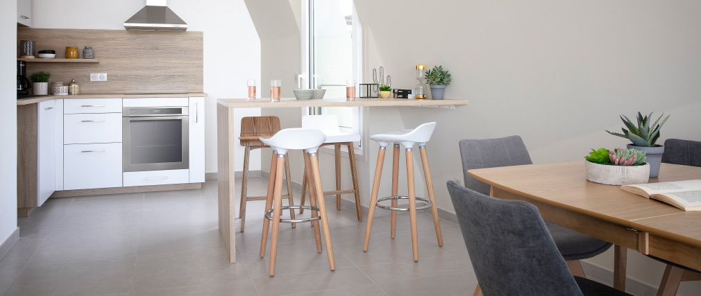 GILDA Scandinavian Style Bar Stool