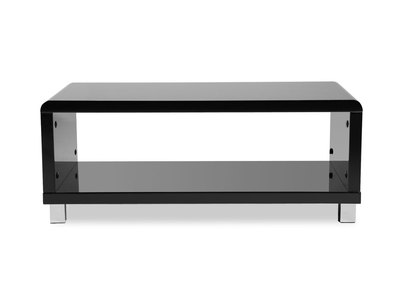 Glossy Black Modern Coffee Table ROXY