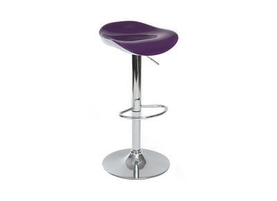 Glossy Plum Bar Stool SONEAR