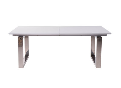 Glossy White Extending Dining Table PRESIDENT