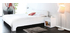 Glossy White Modern Double Bed ELIO 140x190