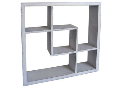 Glossy White Modern Shelf ALIS