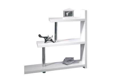 Glossy White Modern Shelving Unit LITTLE MAX