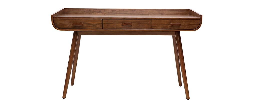HALLEN vintage walnut desk