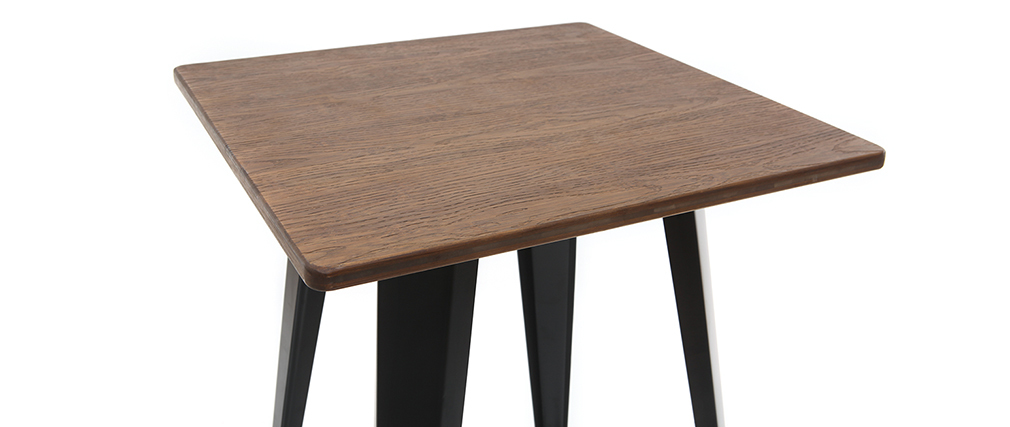 HOCKER black metal bar table