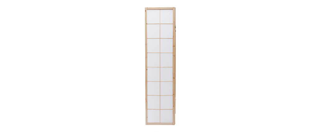 IKUYO Wood and Paper Japanese Screen
