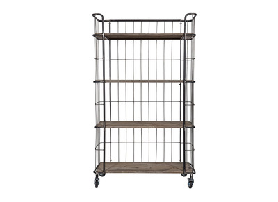 Industrial Metal Bookcase 158.5cm MANUFACTURE