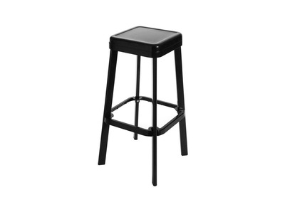 Industrial Modern Black Metal Stool IRON
