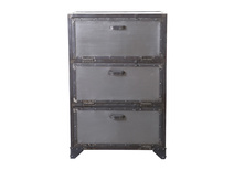 Industrial shoe storage / cabinet in metal FACTORY