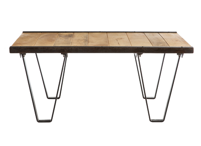 Industrial Solid Wood Coffee Table INDUSTRIA