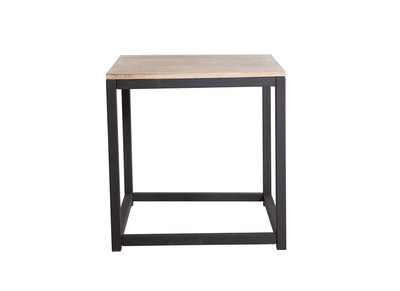 Industrial Wood and Metal Coffee Table FACTORY