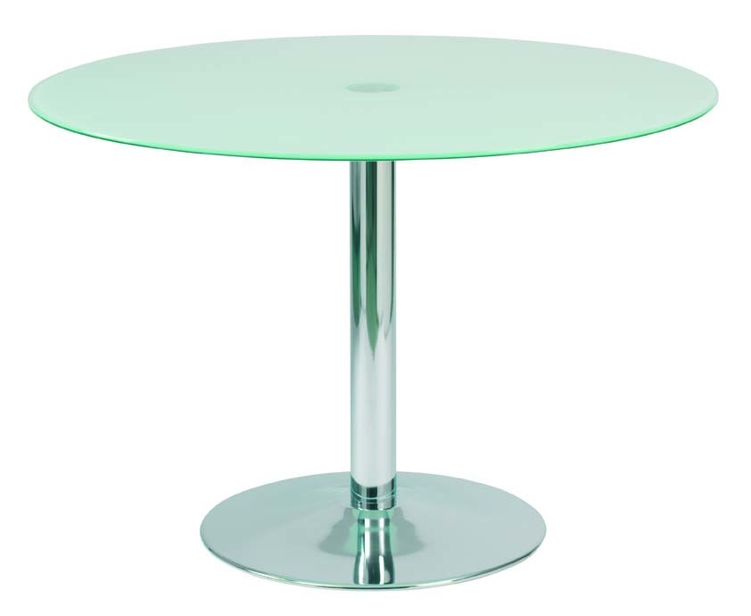 Janis 110cm round dining kitchen table steel and for 110cm round glass dining table