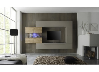 JASON Modern Wall Mounted TV Storage Combination