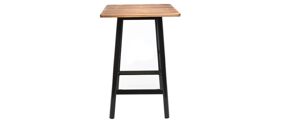 JONES black designer bar table